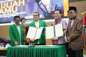 Penandatangan Kerjasama UMI dan PT Freeport Indonesia
