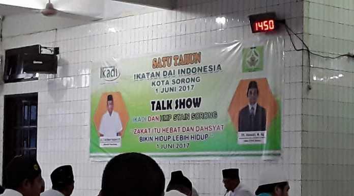 IKADI Kota Sorong Turut Mendukung Pengumuman MUI Sorong Membolehkan Tetap Shalat Jumat Berjamaah