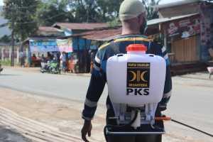 Pembentukan Satgas Penanganan dan Pencegahan Bencana Covid-19 PKS Kota Sorong