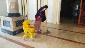 Masjid At Taubah Malanu, Bersihkan Masjid dan Programkan Pencegahan Wabah
