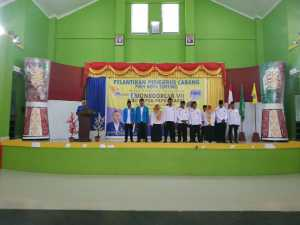 Pengurus Besar PMII hadir dan melantik Cabang Kota Sorong
