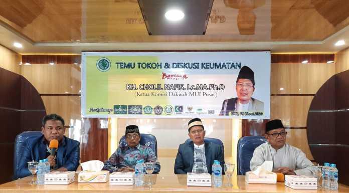 Universitas Muhammadiyah Sorong Tuan Rumah Temu Tokoh dan Diskusi Keumatan