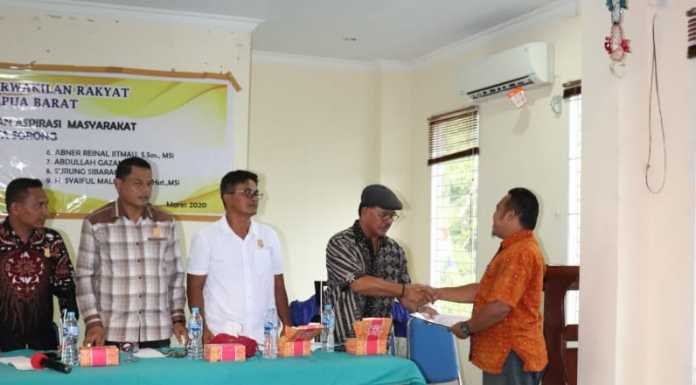 Masyarakat Aniweho Sorong Adukan Masalah Banjir Akibat Penambangan