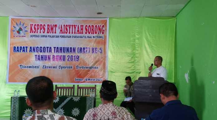 BMT Aisyiyah Sorong Siapkan Program Unggulan