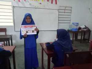 Pemilihan IPM Ranting MTs Mutu Sorong, Hairia Anak Panti Putri Al-Amin Bersaing