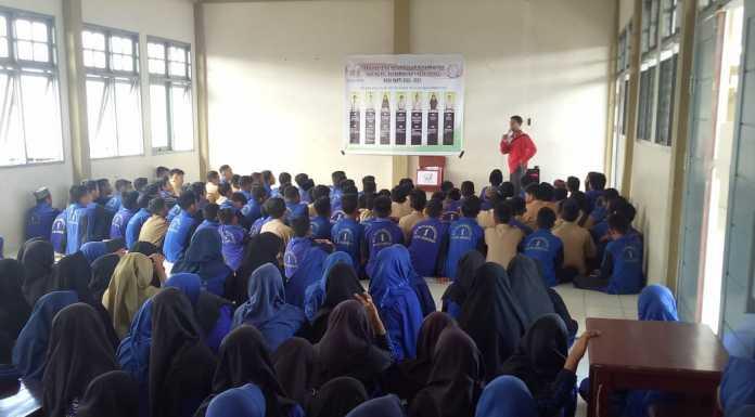 Mencari Pemimpin Baru, IPM Ranting MTs Muhammadiyah 1 Sorong Gelar Pemilihan
