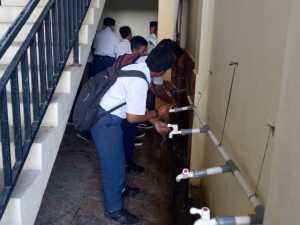 Cegah Wabah Covid-19, Peserta UAMBN-BK MTs MUTU Sorong Ikuti Prosedur Pencegahan