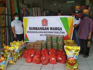 KKMB Sorong Peduli Bencana, Serahkan Bantuan bagi Masyarakat Terdampak