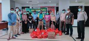 IAIN Sorong Peduli, Distribusi Bantuan untuk Warga Terdampak Covid-19