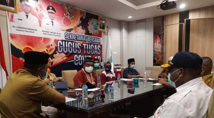 Satgas Covid-19 DMI Papua Barat Pantau Pencegahan Bersama Takmir Masjid