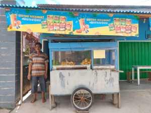MDMC Kota Sorong Survey Penjual Gorengan yang Terdampak Covid-19