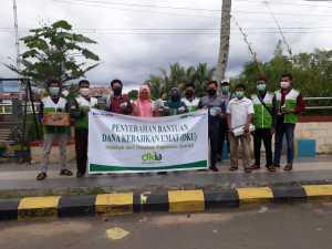 Kolaborasi Yakesma dan Pegadaian Syariah Bagikan Bantuan untuk Warga