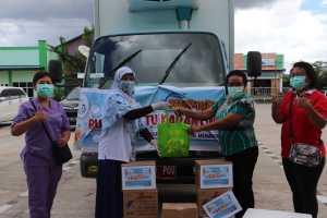 SKIPM Gandeng Yayasan SMAY Bagi Paket Bantuan Bulan Mutu Karantina 2020