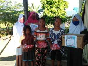 Memupuk Kepedulian Sosial Sejak Dini, PD PII Kabupaten Teluk Bintuni Berbagi Takjil