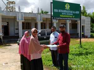 Peduli pendidikan Papua Barat, Syaiful Maliki Arief Kunjungi SMU Muhammadiyah Sorong