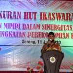 Hut Ke-21 Ikaswara Digelar Sesuai Protokol Covid-19