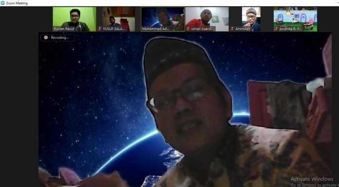 Adakan Ngopi Online Perdana, Yayasan Malanu Peradaban Diperkenalkan