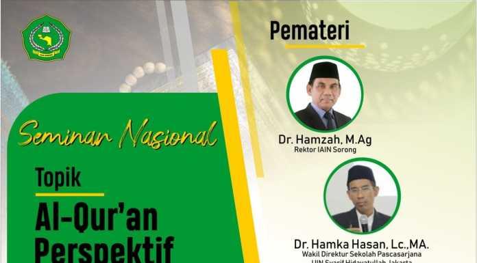 IAIN Sorong Selenggarakan Seminar Nasional Rangkaian Perkuliahan Pascasarjana