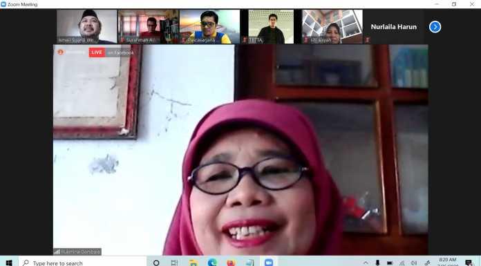 Prodi PAI Pascasarjana IAIN Sorong Menggelar Diskusi Bersama Tiga Guru Besar Perempuan