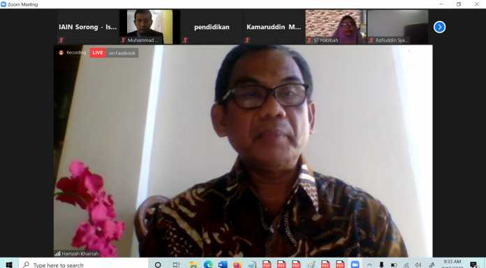 Rektor IAIN Sorong Diundang Sebagai Panel dalam Dialog Nasional Bersama 8 Pimpinan Perguruan Tinggi