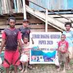 Peduli Muslim Papua Barat, Bunda Shinta Tebar Daging Qurban melalui Yayasan Malanu Peradaban