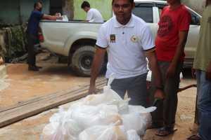 La Ode Samsir, Ini Tanggung Jawab Moril Saya Ketika Bagikan 665 Paket Bantuan Banjir