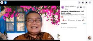 Jurnal Laa Maisyir dan HMJ Ekis Gelar Kuliah Tamu, Mahasiswa Pascasarjana IAIN Sorong Turut Bergabung