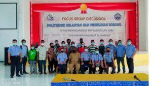 FGD politeknik dan Perikanan Sorong, Senin 30 Maret 2021 (Sumber: Humas)