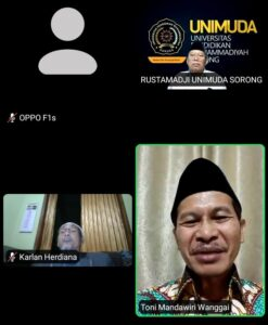 Diskusi Moderasi Beragama di Papua Jelang Ramadhan 1442 H (Sumber: SorongTerkini.id)
