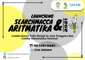 HMJ Pendidikan Matematika UIN Alauddin dan SEAAM Kembali Laksanakan SEARCHMACCA (Koleksi HMJ PMTK)
